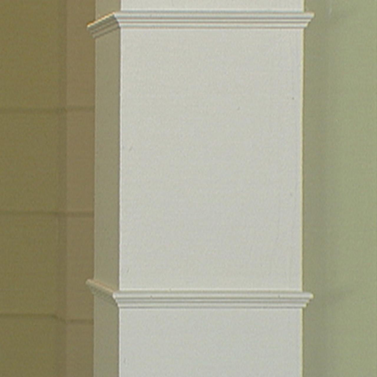How To Build A Column With Molding HGTV