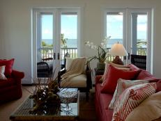 Designer Linda Woodrum shares her tips and inspirations for creating an inviting sitting room, the first room she decorated for HGTV Dream Home 2006.