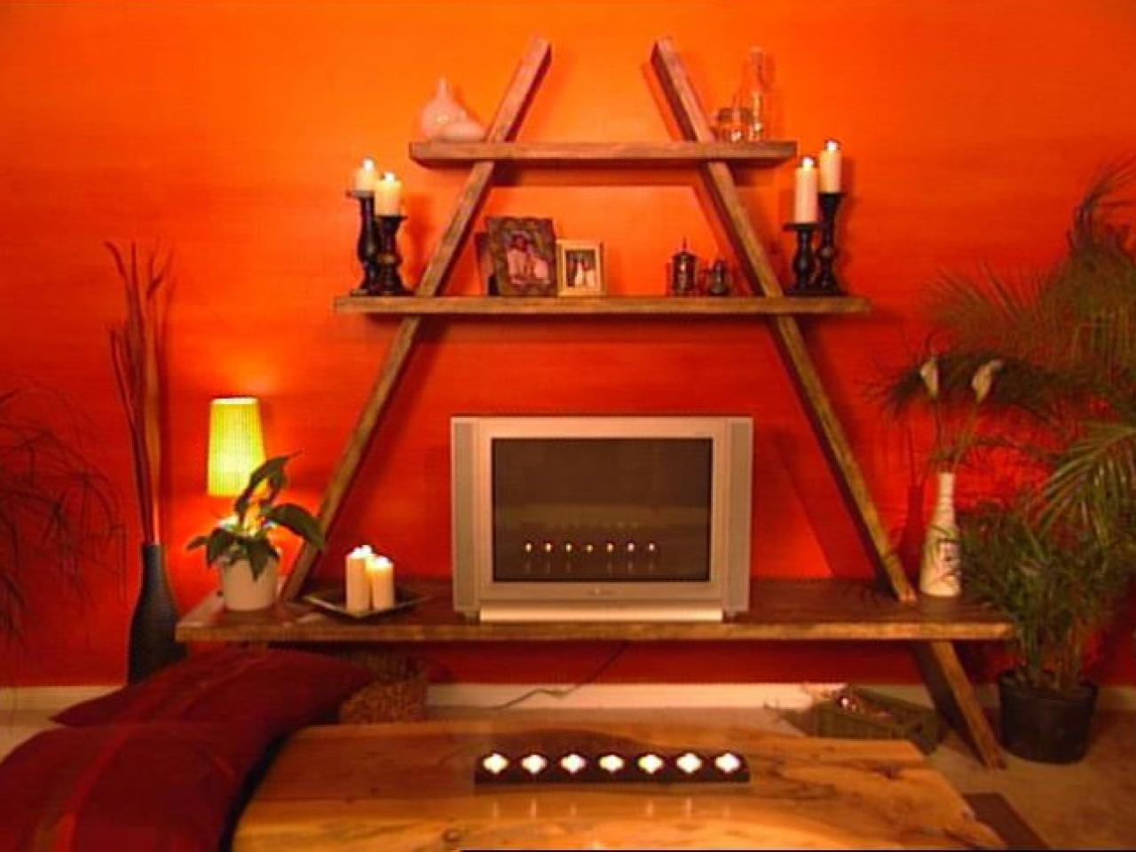 How To Building An A Frame Entertainment Center HGTV