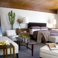Good Minimalist Bedroom With Southwestern Flair