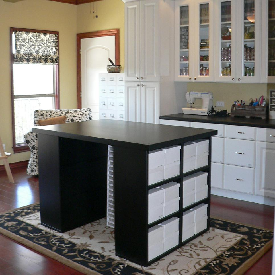 Craft Room Furniture Ideas Sensational Craft Rooms  Hgtv