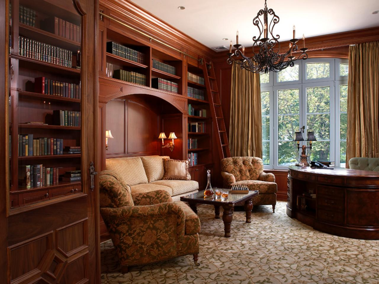 12 Dreamy Home Libraries Decorating And Design Ideas For Interior Rooms Hgtv