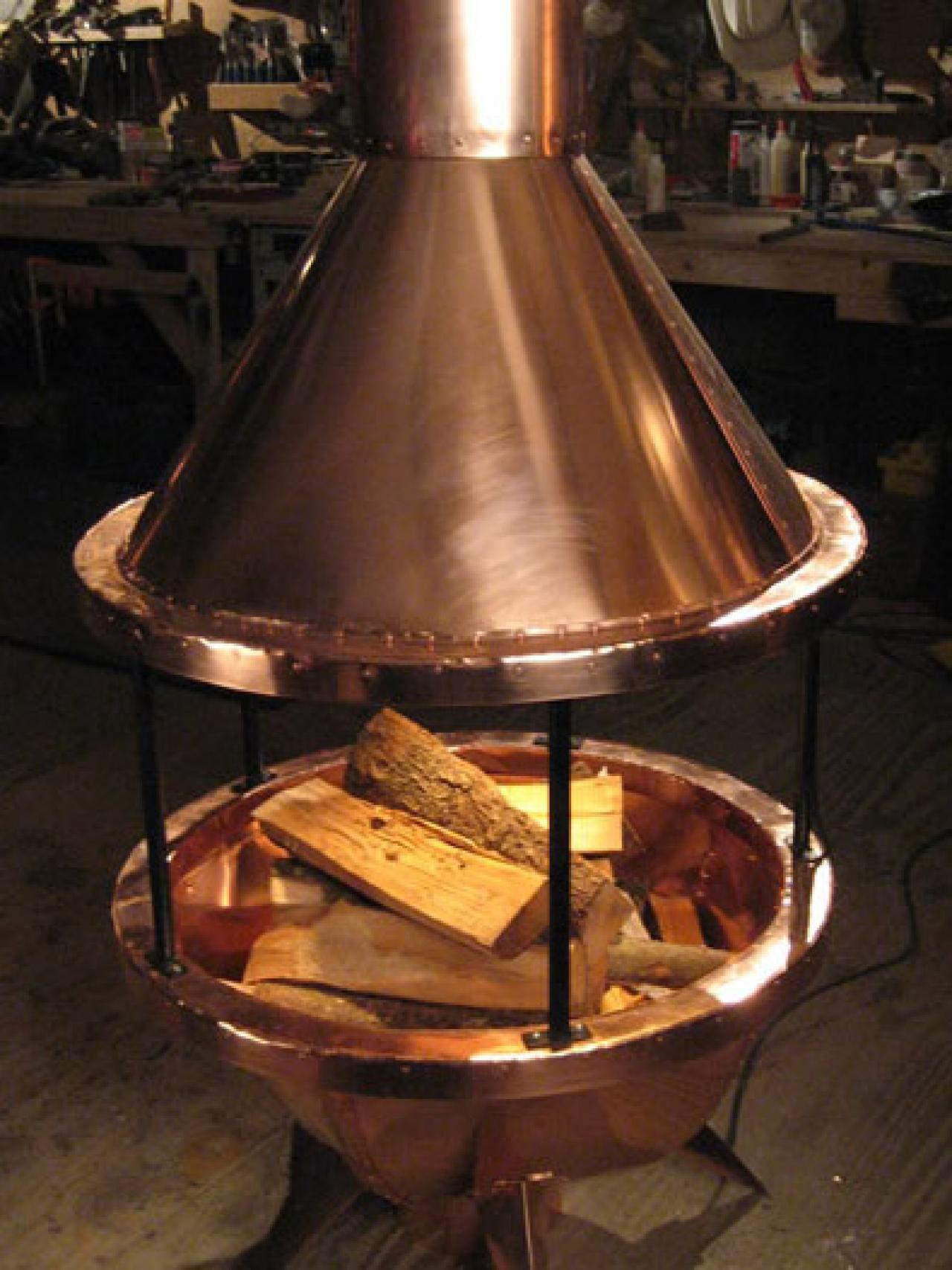 Building A Copper Chiminea