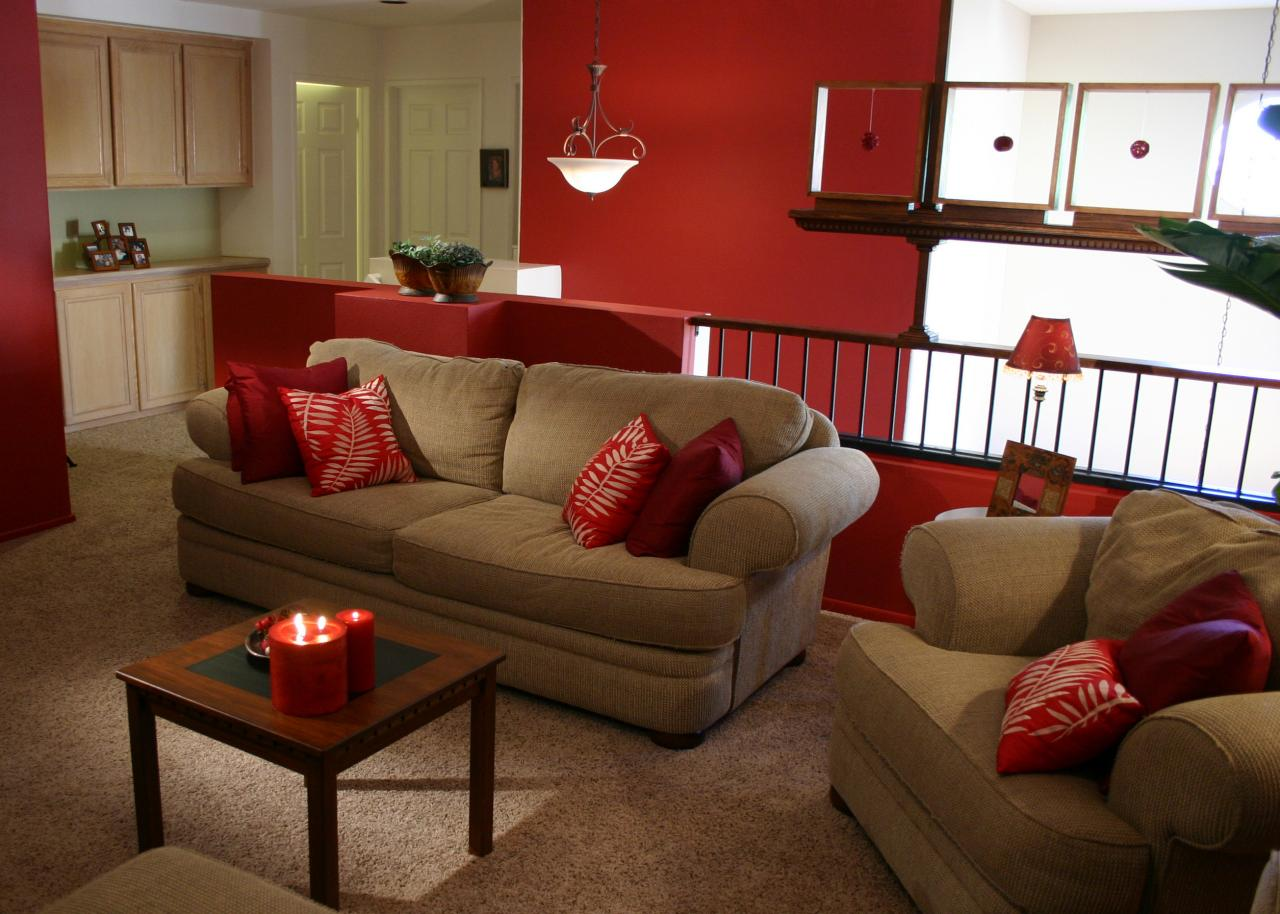 Red Living Room: Answers To Top Color Questions