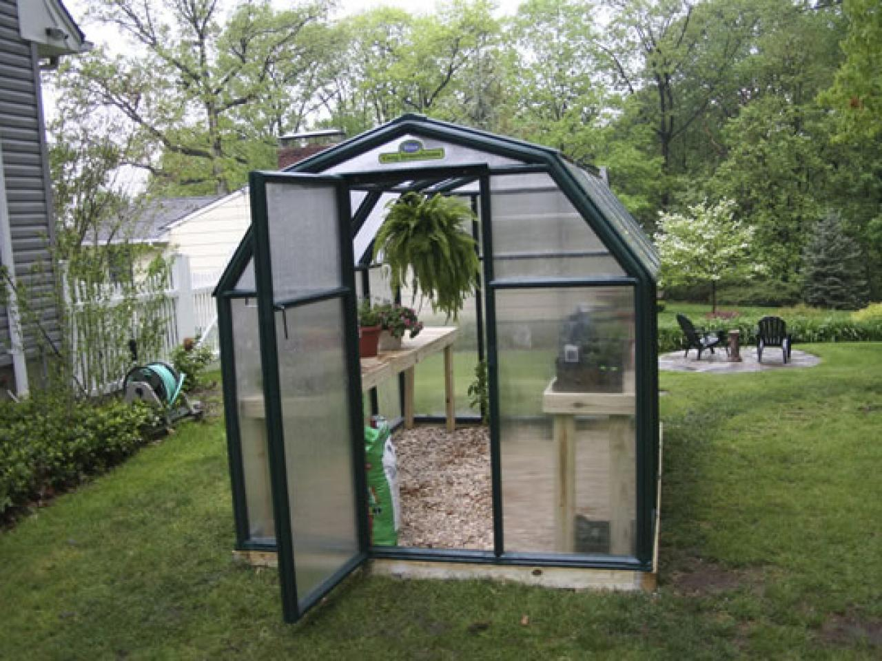 Assemble A Greenhouse Kit Hgtv