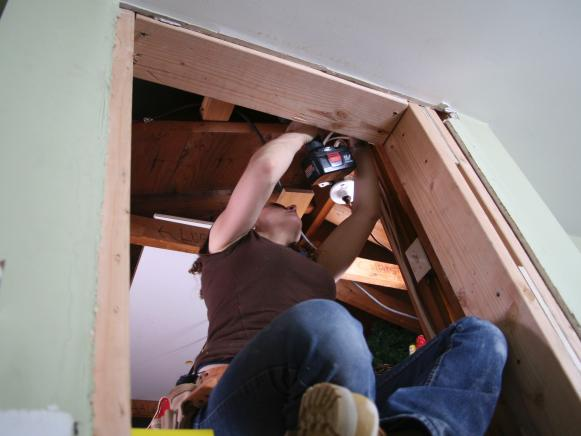 Fold Away Attic Ladder Hgtv