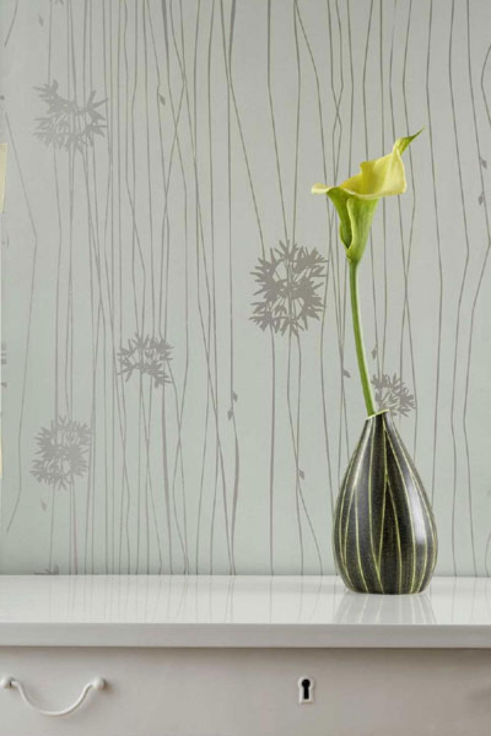 contemporary wallpaper ideas hgtv - Wallpapers Designs For Home Interiors