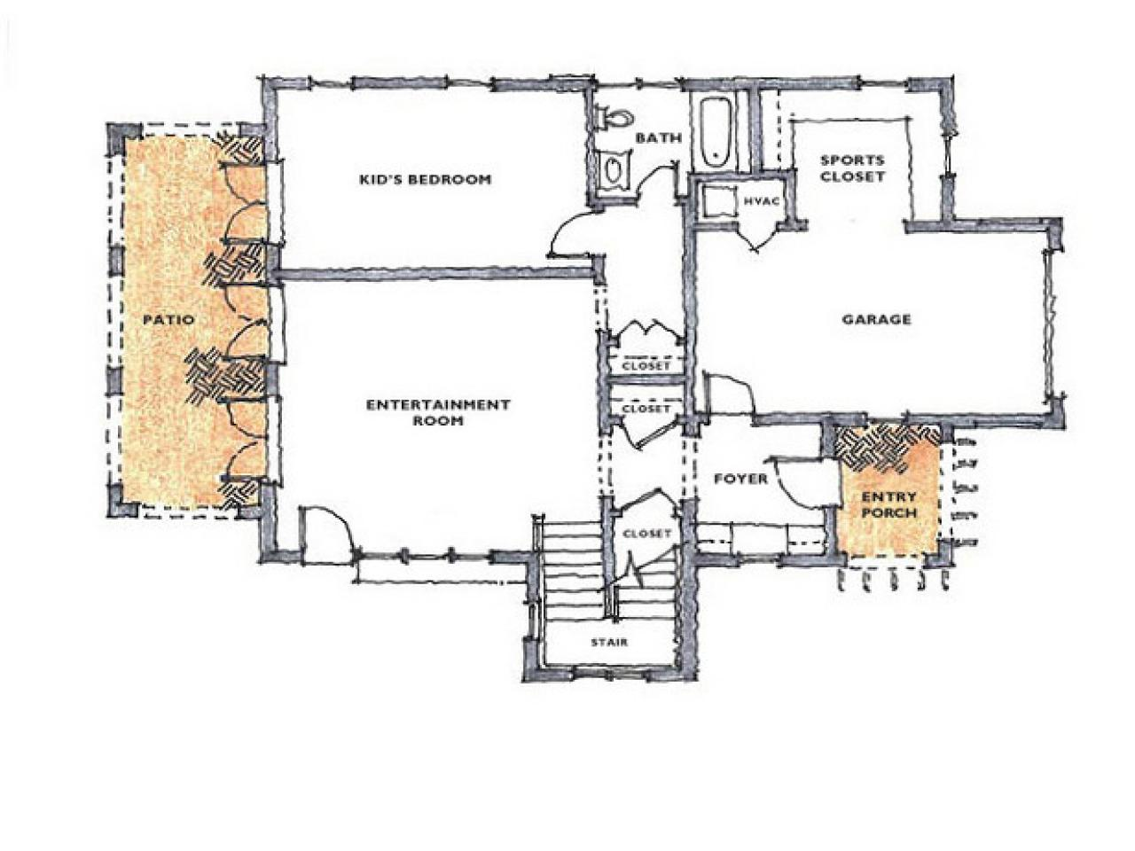 Floor plan for hgtv dream home 2008 hgtv dream home 2008 for Dream house blueprints
