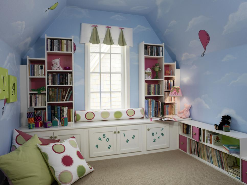 8 ideas for kids bedroom themes hgtv - Children Bedroom Decorating Ideas