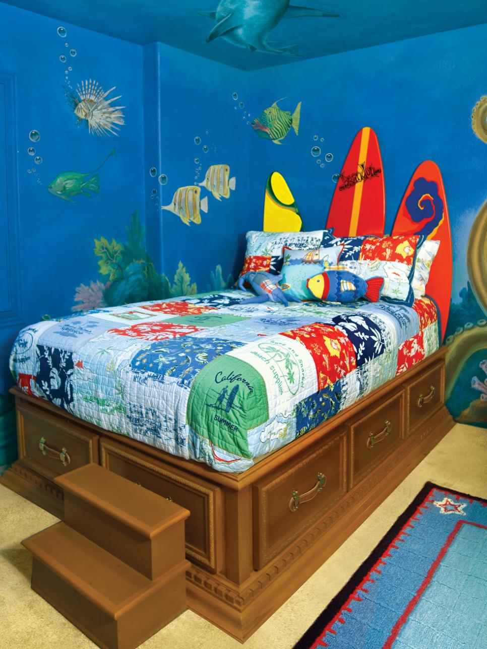 8 ideas for kids bedroom themes hgtv - How To Decorate Kids Bedroom