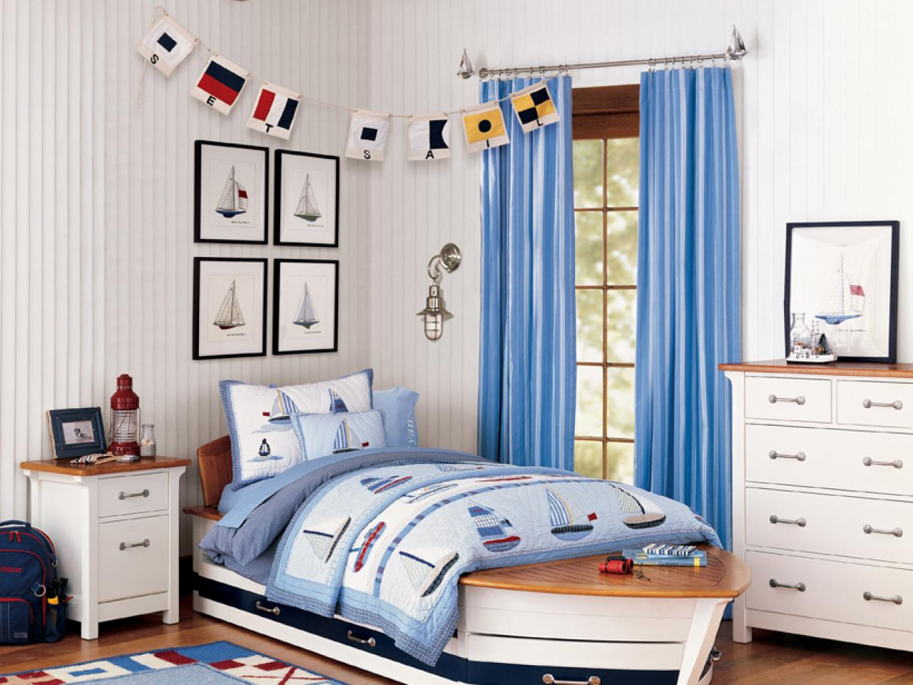 8 ideas for kids 39 bedroom themes kids room ideas for for Bedroom ideas nautical