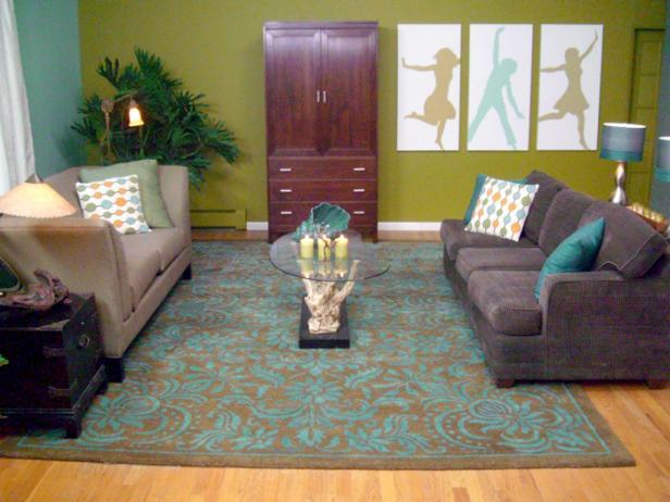 Green Feng Shui Designed Living Room