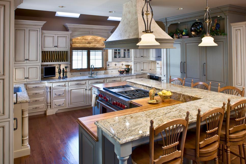5 Most Popular Kitchen Layouts | Hgtv