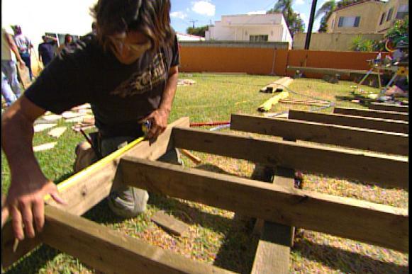 Detached Deck Building Process