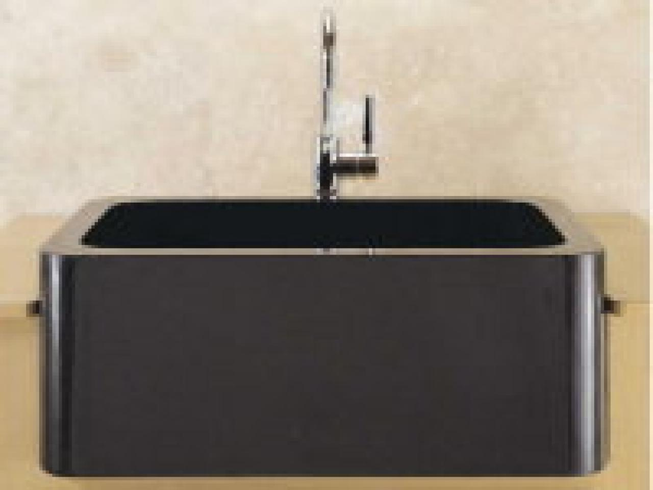 Composite Granite Kitchen Sinks Is A Stone Sink Right For Your Kitchen Hgtv