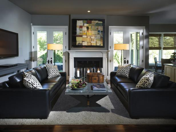 Gray Living Room Design Ideas Decor Hgtv