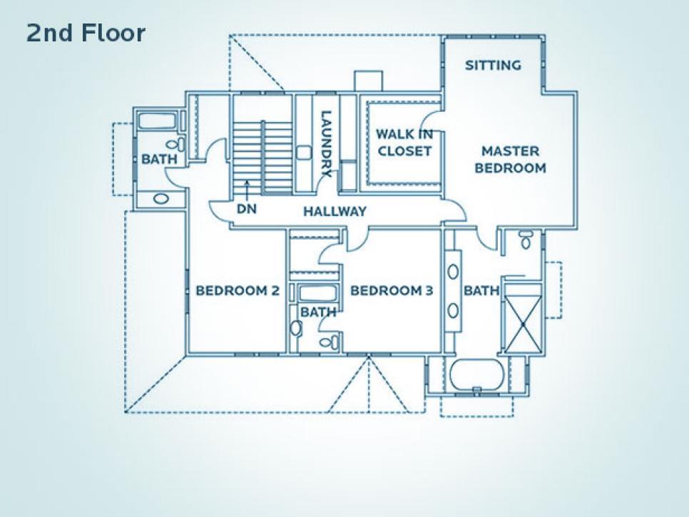 Floor Plan for HGTV Dream Home 2009 HGTV Dream Home 2009 HGTV