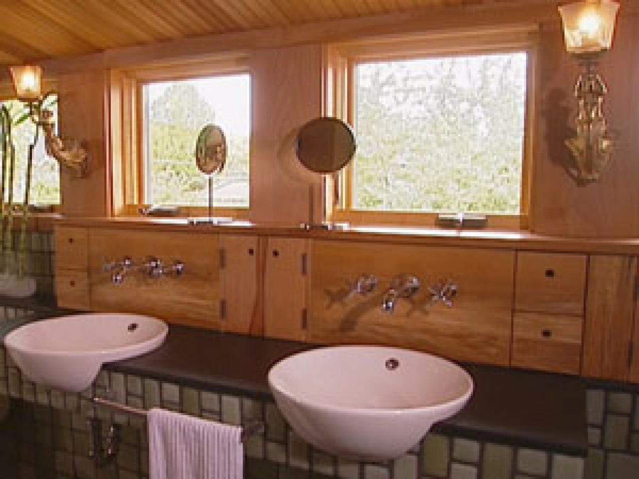 5 Simple Ways to Go Green in the Bath. Eco Friendly Bathroom  6 Ways to Go Green   HGTV