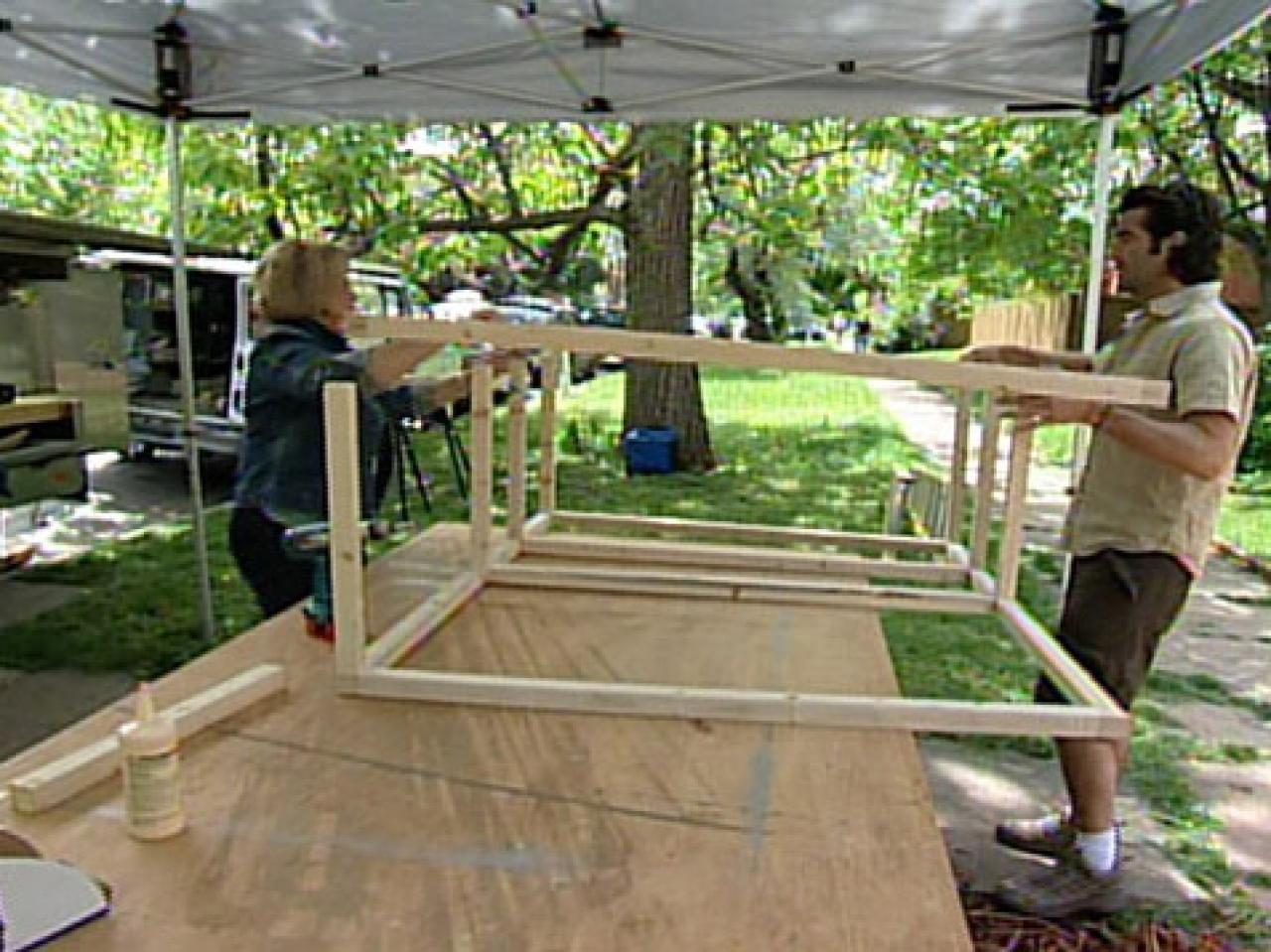 build an outdoor tv cabinet hgtv. Black Bedroom Furniture Sets. Home Design Ideas