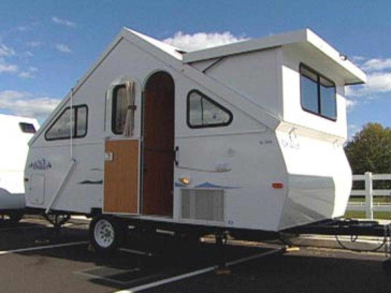 Towable Folding Camping Trailer