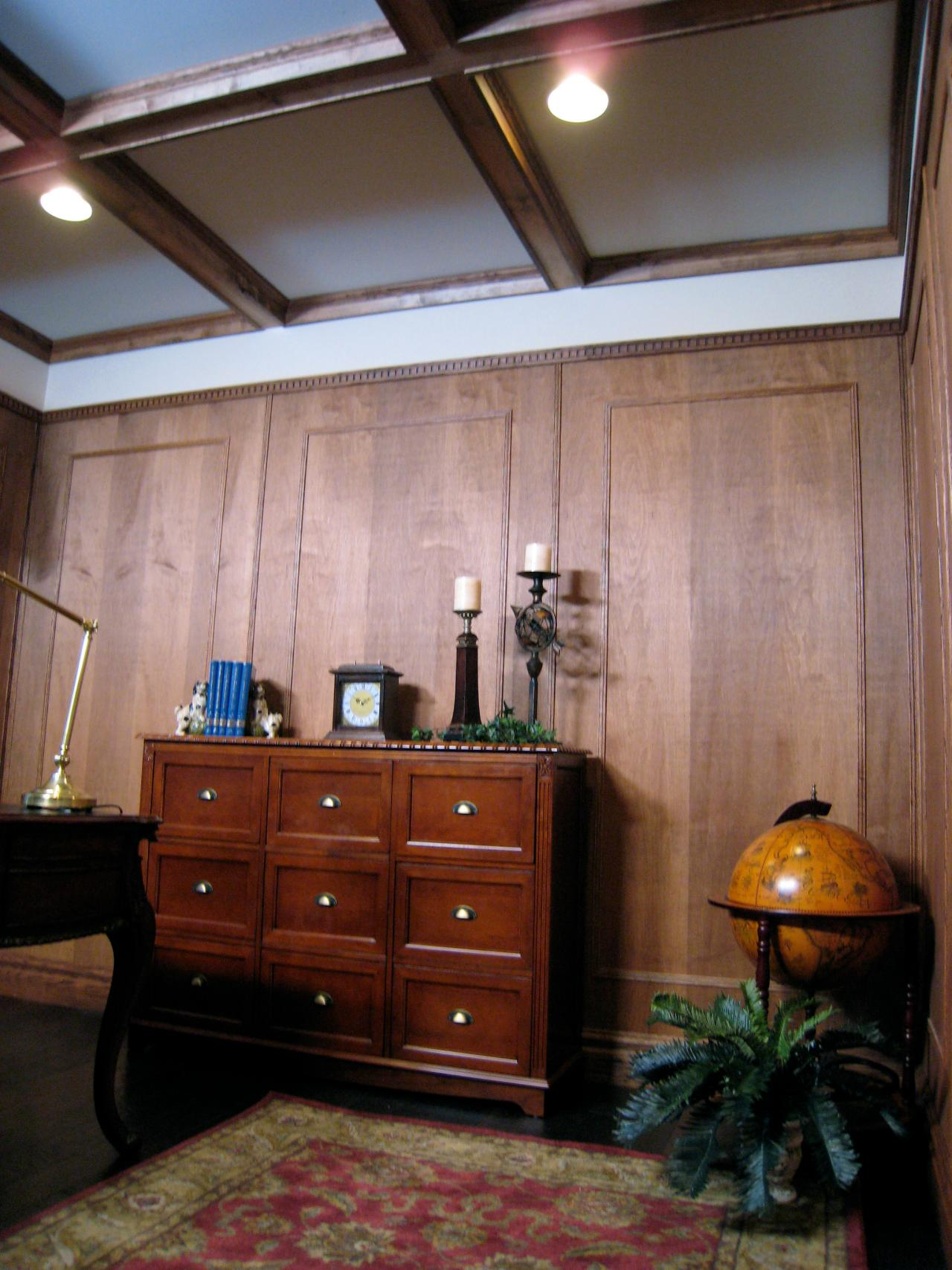 How to Create a Coffered Ceiling HGTV