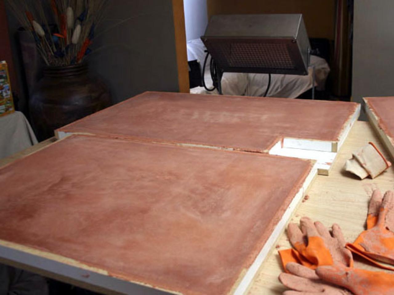 Concrete Gives Kitchen A Fabulous Counter Hgtv