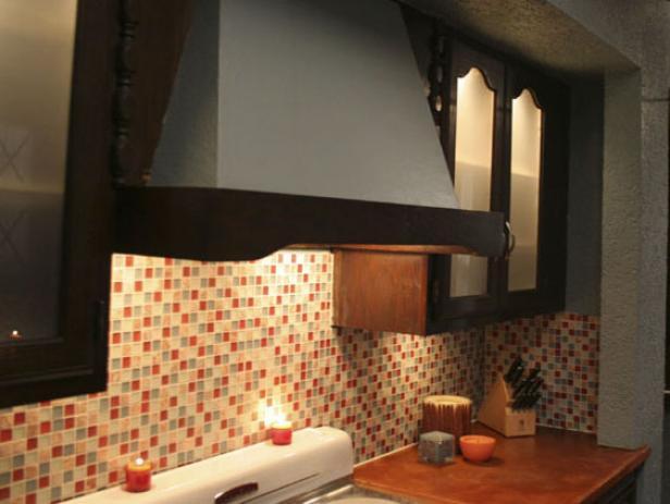 Kitchen Makeover Cabinet Door Inserts Hgtv