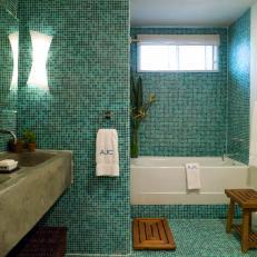 Prim and Polished Bathroom