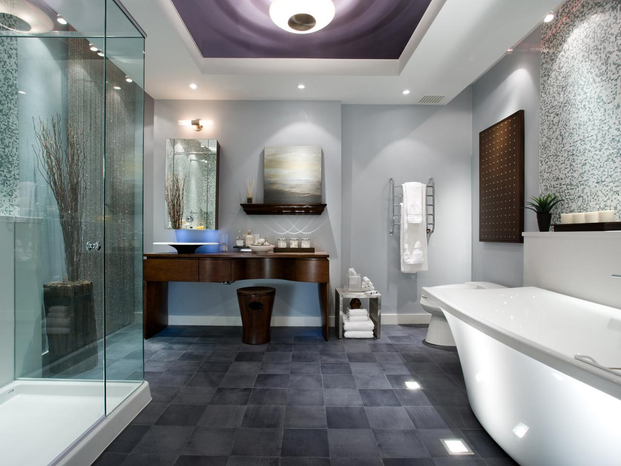 modern luxury - Granite Bathroom Designs