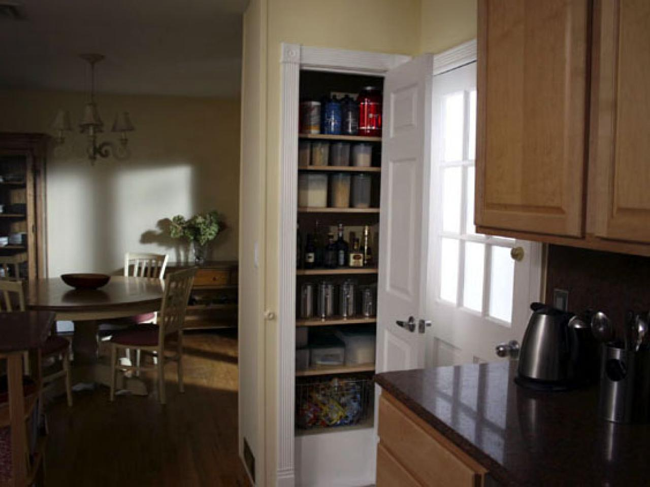 add storage to your kitchen by adding a pantry hgtv