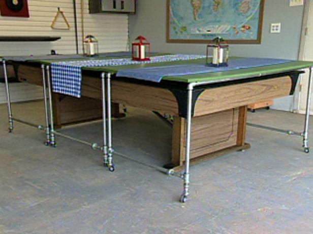 How To Build Rolling Pool Table Covers Hgtv