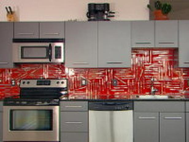 How To Creating A 3 D Collage Backsplash Hgtv