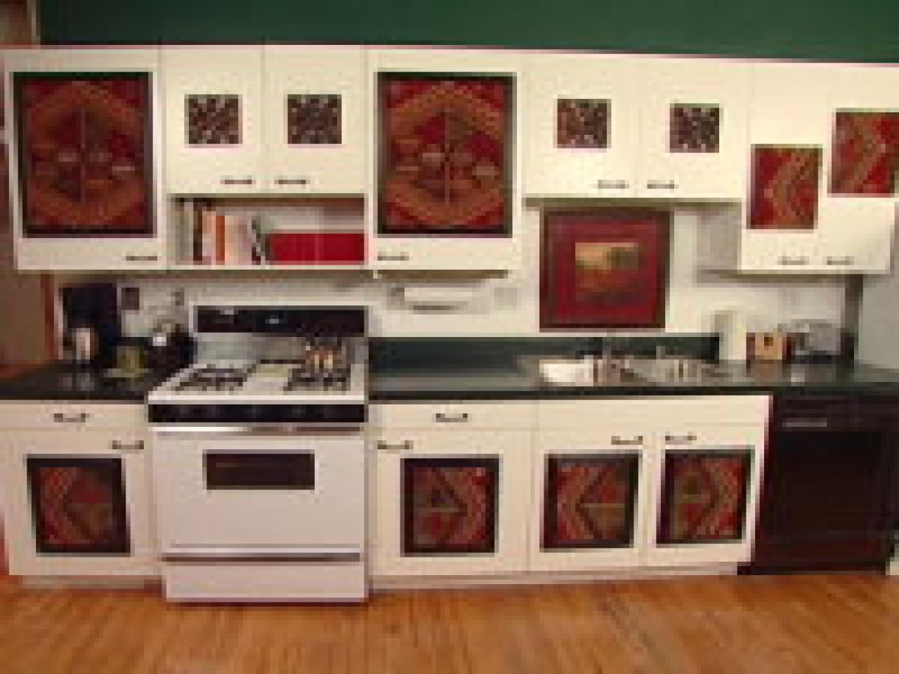 Clever kitchen ideas cabinet facelift hgtv - Kitchen diy ideas ...