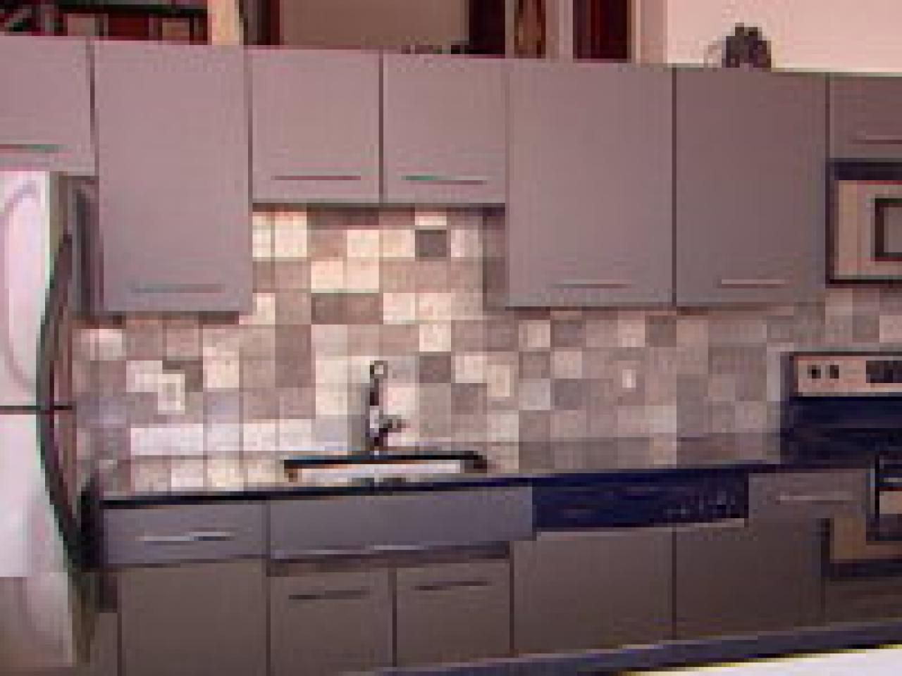 How To Creating An Eco Friendly Metal Backsplash Hgtv
