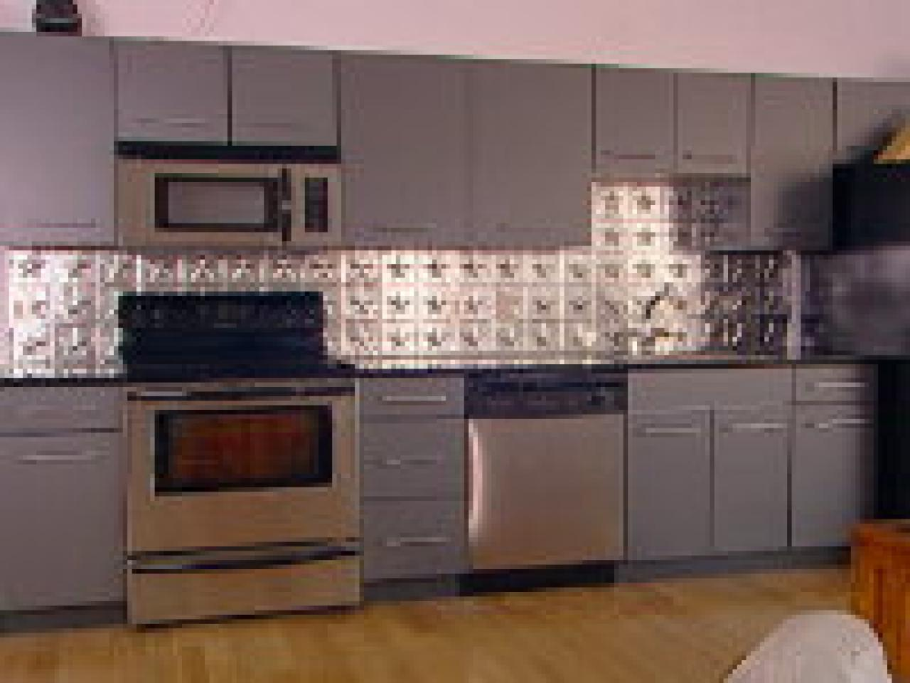 Related To: - How To Create A Tin Tile Backsplash HGTV