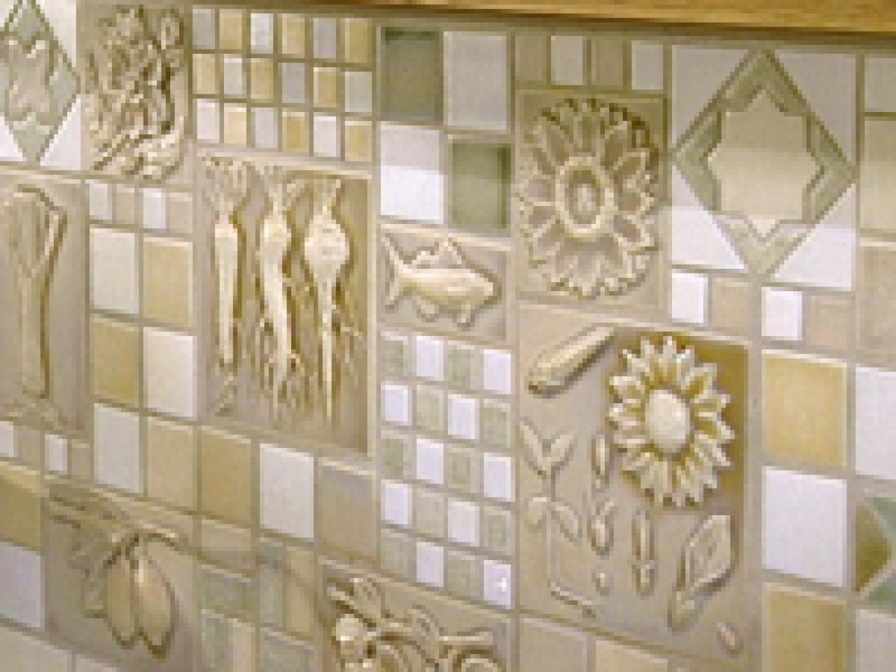 Wild for tile jewelry for your kitchen hgtv Kitchen design of tiles