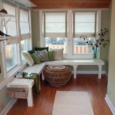 Inviting, Green Sunroom