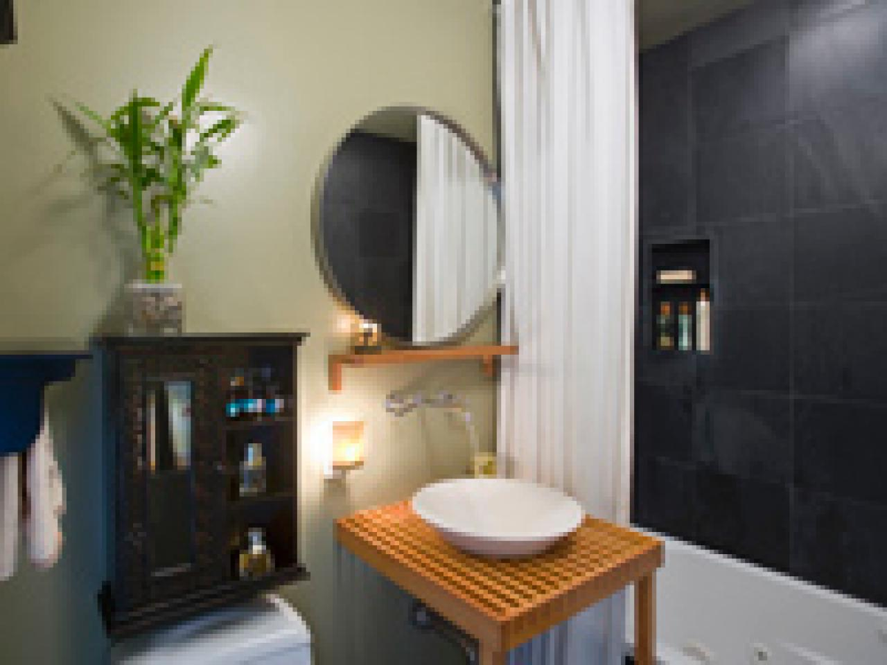 Bathroom Zen Design Ideas choose natural colors for your zen bathroom | hgtv