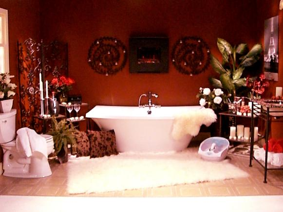 Ultimate Romantic Bathroom Hgtv
