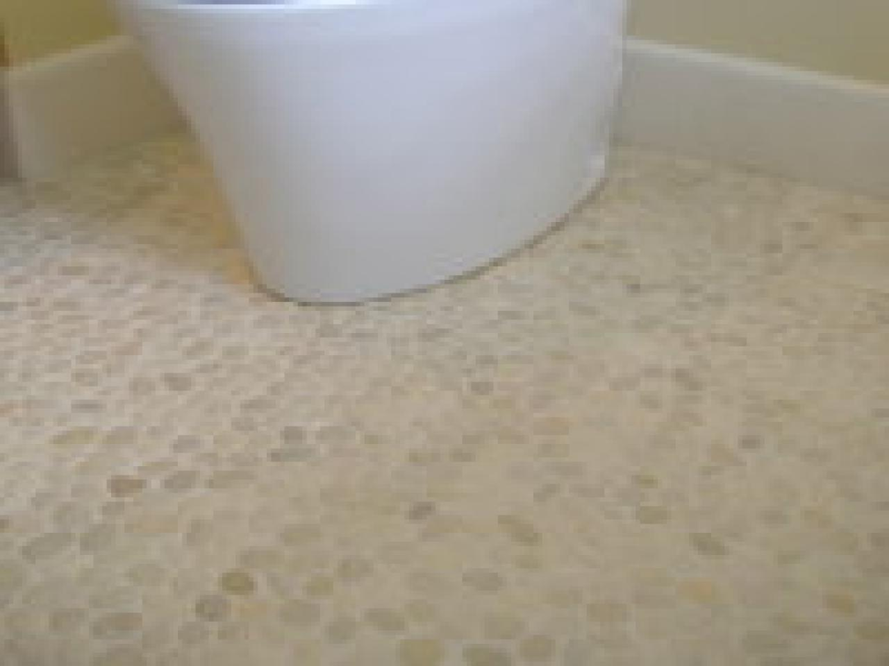 Fresh choices in bathroom flooring hgtv Bathroom flooring tile