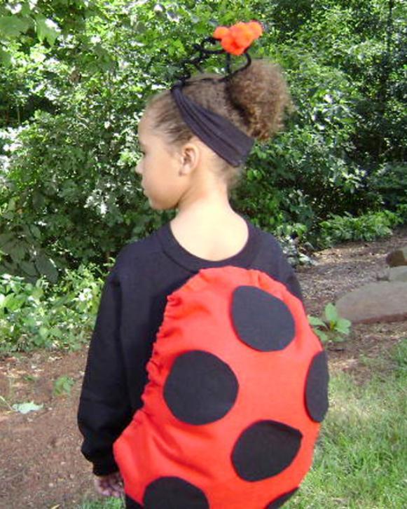No sew lucky ladybug costume hgtv ladybugbeauty solutioingenieria Choice Image