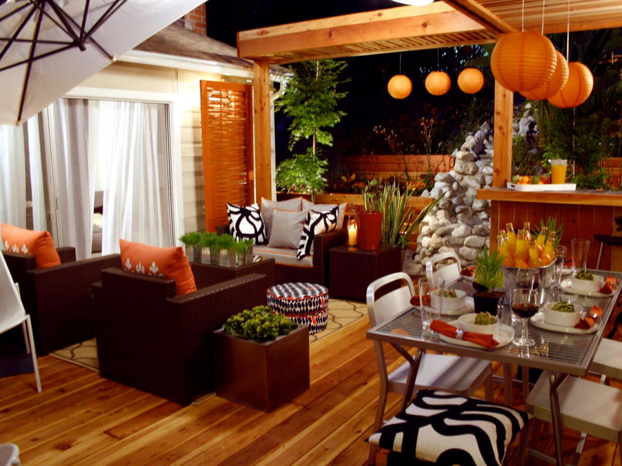 orange home decor and decorating with orange color