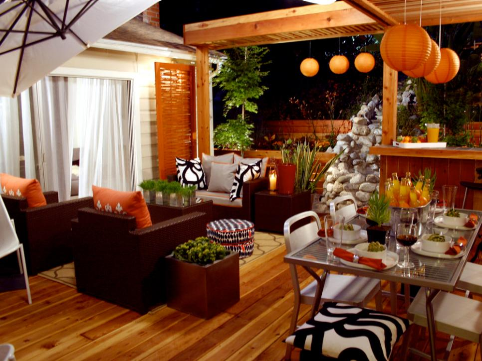 orange home decor and decorating with orange hgtv