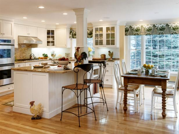 ranch style kitchen counters guide to creating a country kitchen hgtv