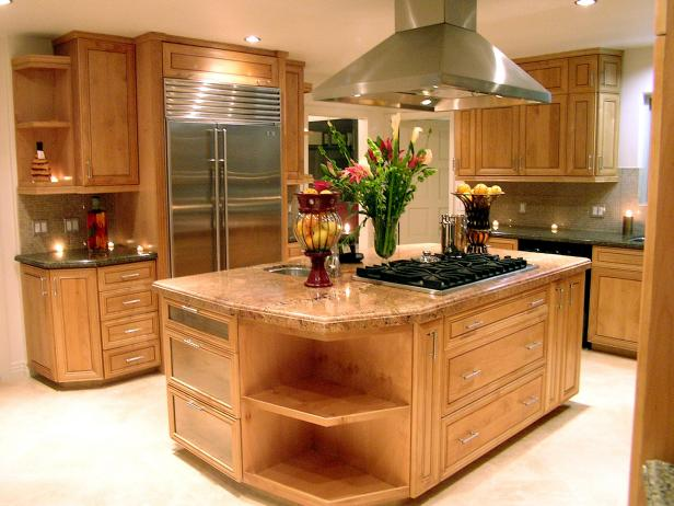 Guide to creating a transitional kitchen hgtv for Kitchenette layout