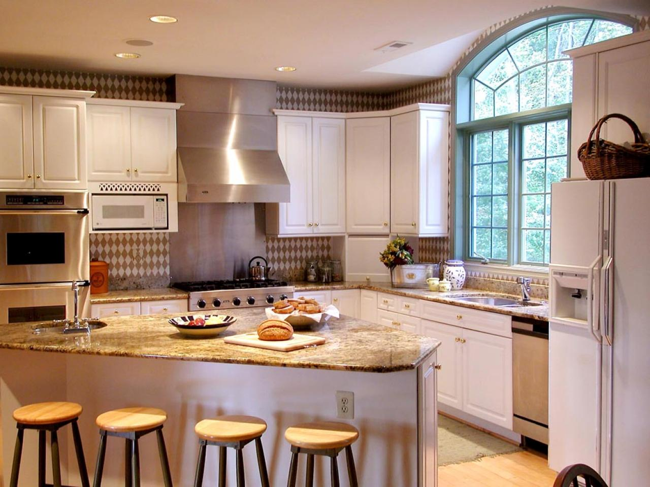 how to get this look - Transitional Kitchen Design