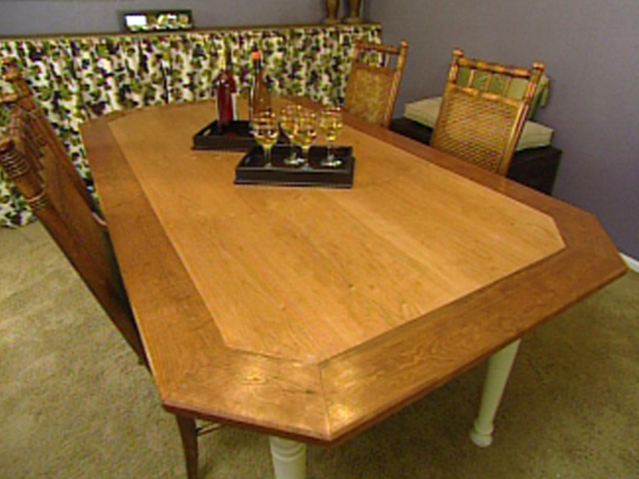 how to build an octagon dining table - Octagon Kitchen Table