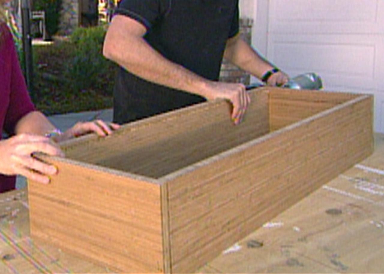 How to Build Beach-Inspired Bamboo Wall Shelves | HGTV