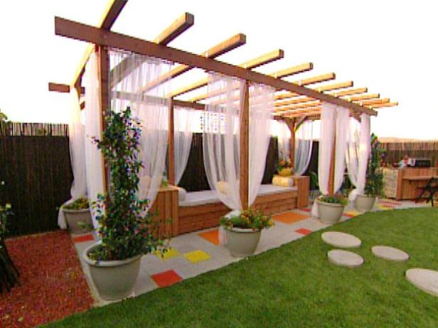 pergola ideas lindsay jackmans patio makeover. pergola vines ... - Pergola Patio Ideas