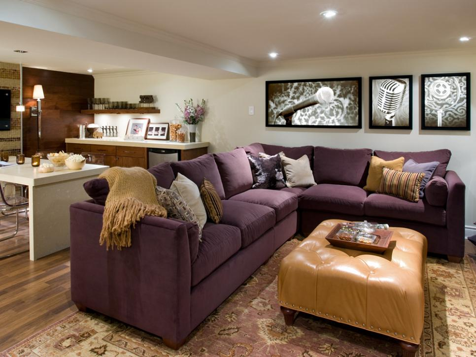 10 chic basements by candice olson hgtv for Hgtv candice olson living rooms